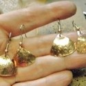 Textured Copper Earring Tutorial