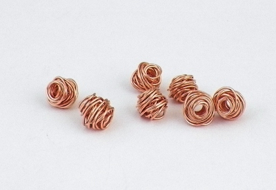copper wire beads