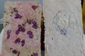 How to make homemade paper