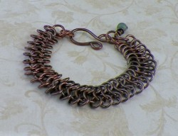 Handcrafted European 4-1 Chainmaille Bracelet