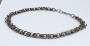 helm weave chaimaille necklace