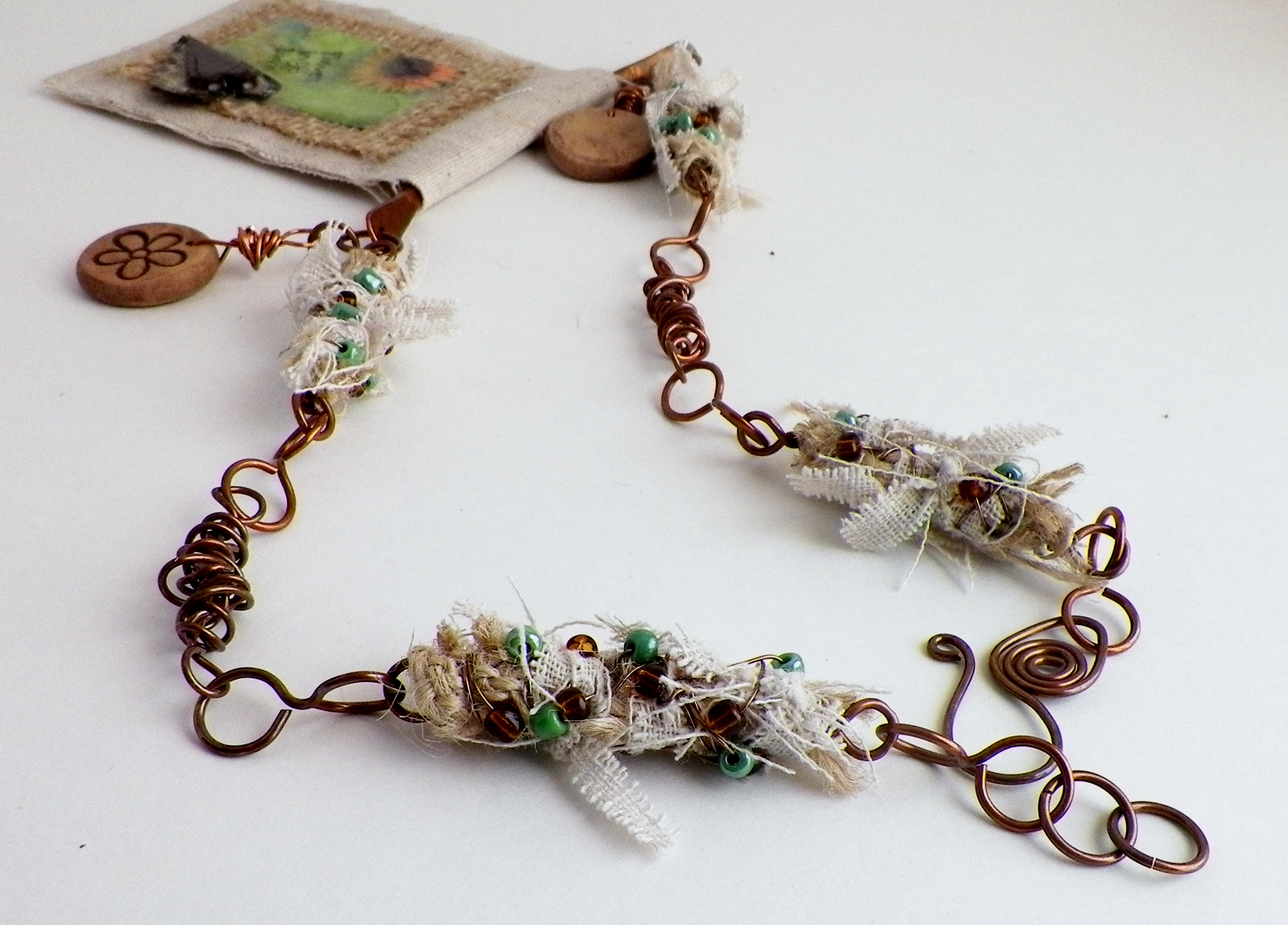 beginners wire beaded ww with bead day wrapping for necklace tutorial
