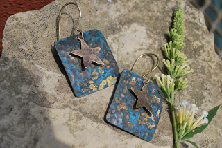 DIY Blue Patina