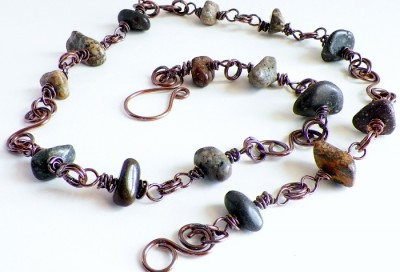 Handcrafted Copper Jewelry With Himalayan Stones