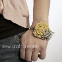 Easy DIY Rosette Bracelet