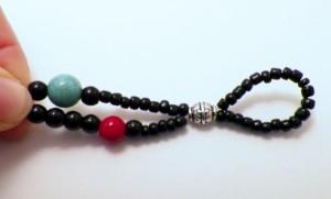 double strand beaded bracelet tutorial