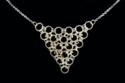 Easy Chainmaille Necklace by Obstinate Pursuit