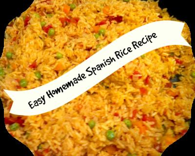 Easy Homemade Spanish Rice Recipe