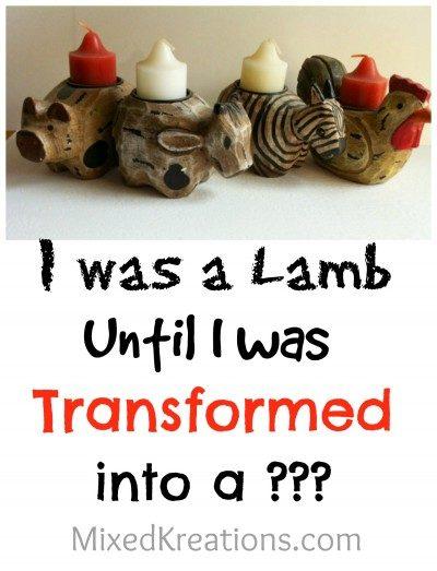 I was a lamb