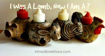 I was a lamb and now I am a