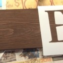 Handmade Personalized Family Name Sign