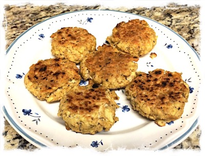 Homemade Salmon Patties
