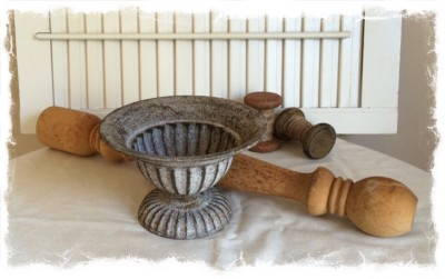 Repurposed Spindle Angels – Home Decor