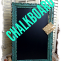 How to make a chalkboard from a picture frame