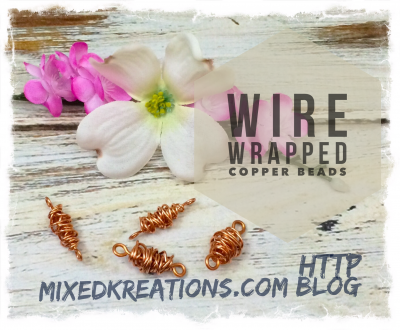 How To Make Wire Wrapped Copper Beads