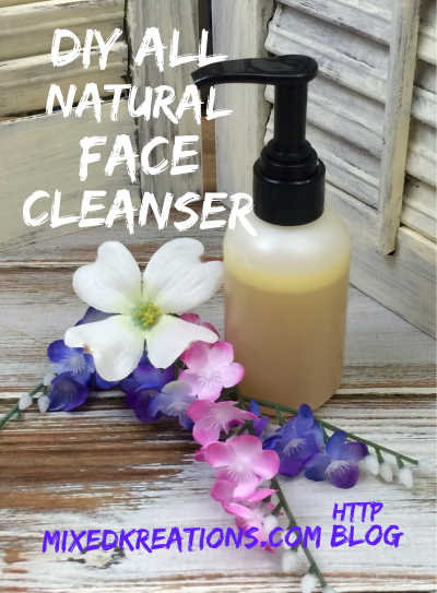 Diy All Natural Face Cleanser