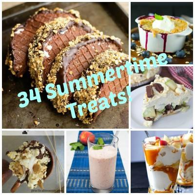 34 Amazingly Delicious Summer Treats!