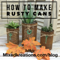 rusty cans
