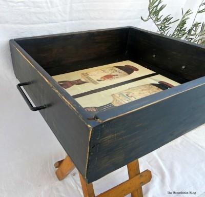 ancient tray