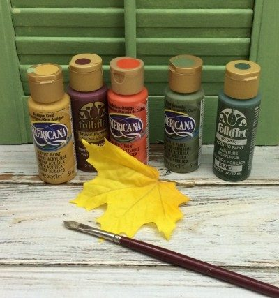 diy fall leaves