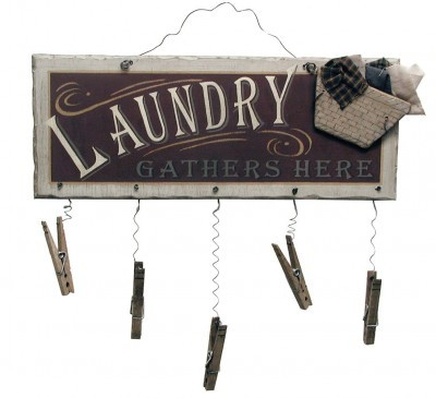 country laundry sign