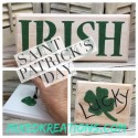 Saint Patrick's Day Signs On Drawer Fronts
