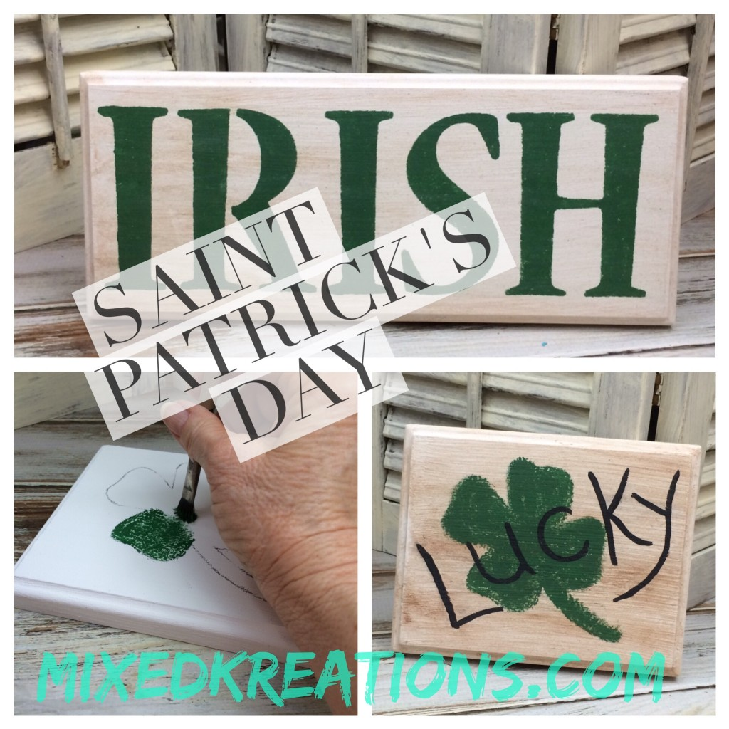 Saint Patrick's Day Signs