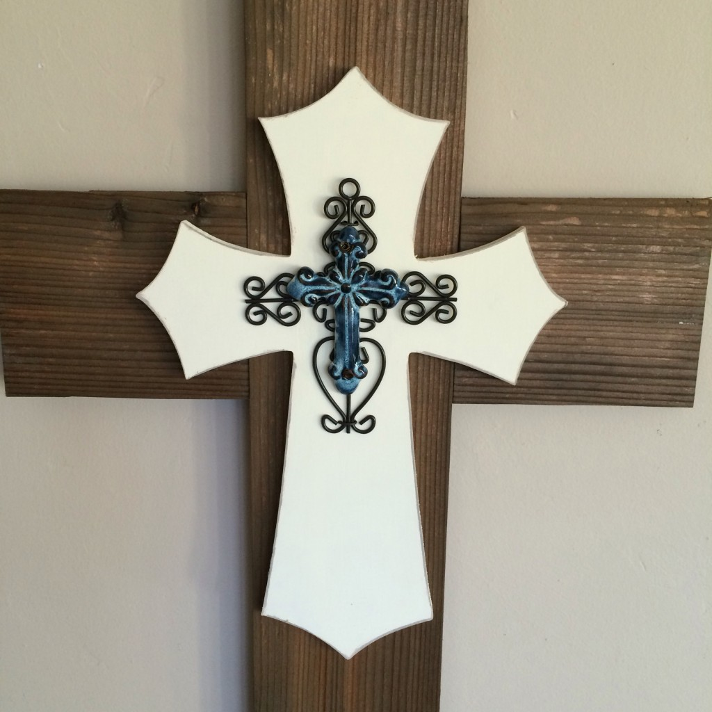 Layered Rustic Cross