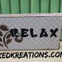 Easy Relax Vintage Sign