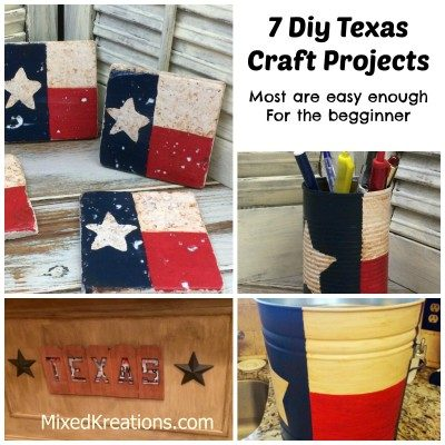 7 Diy Texas Craft Projects