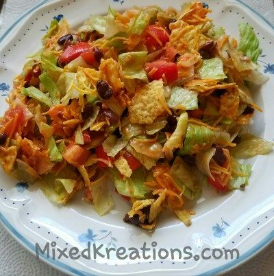 Black Bean and Doritos Salad