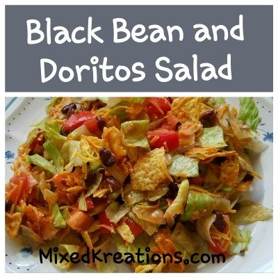 Black Bean and Doritos Salad Recipe