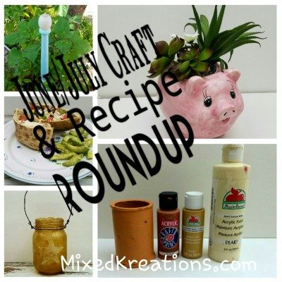 Craft and recipe roundup