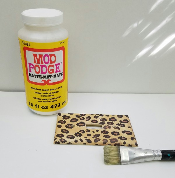 Animal print switch covers