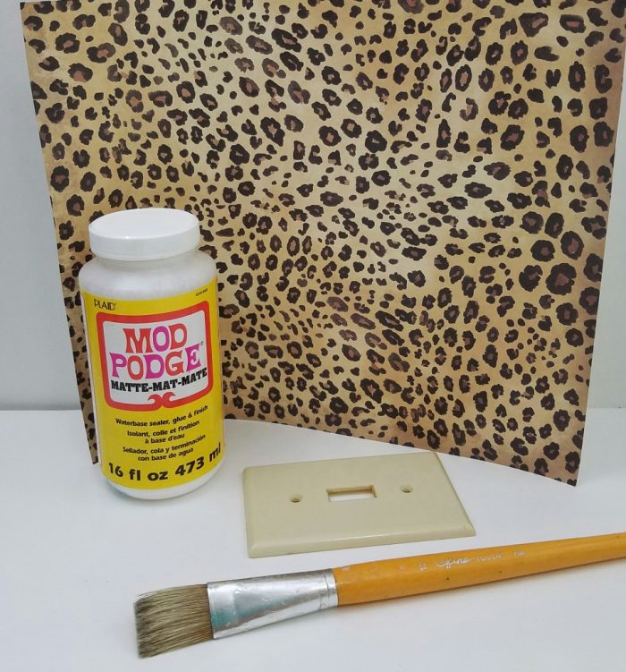 leopard print switch covers