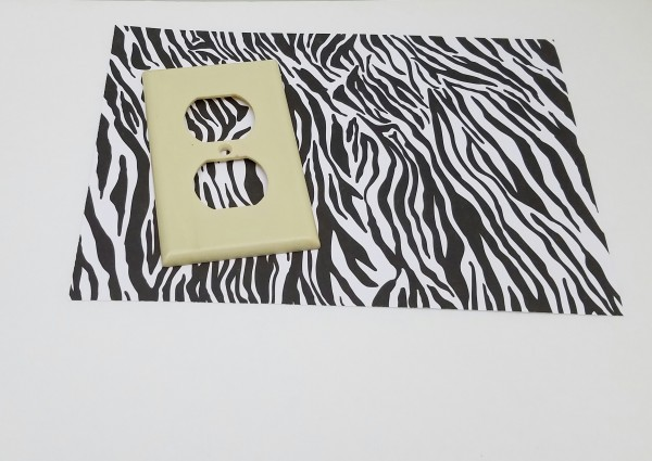 zebra print switch covers