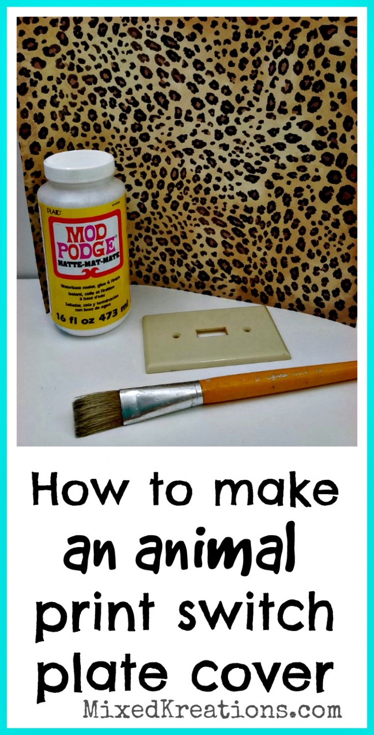 how-to-make-an-animal-print-switch-plate-cover
