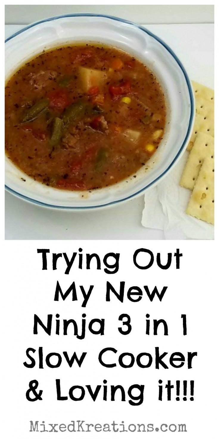 ninja 3 in 1 slow cooker