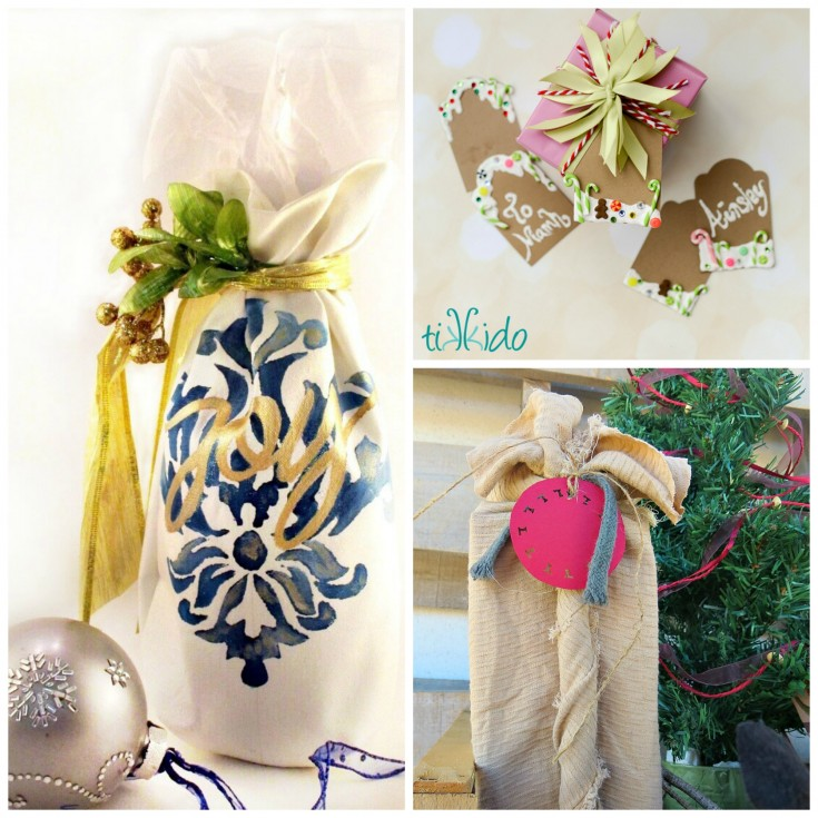 4 fun Christmas traditions - gift wrapping