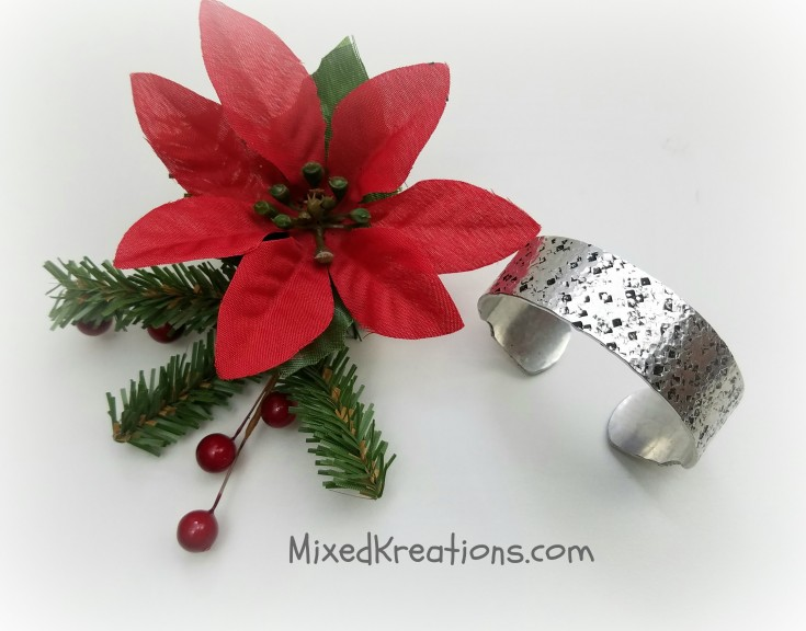 christmas gift list - handmade aluminum bangle