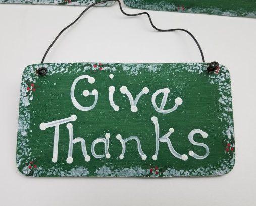 mini Christmas signs