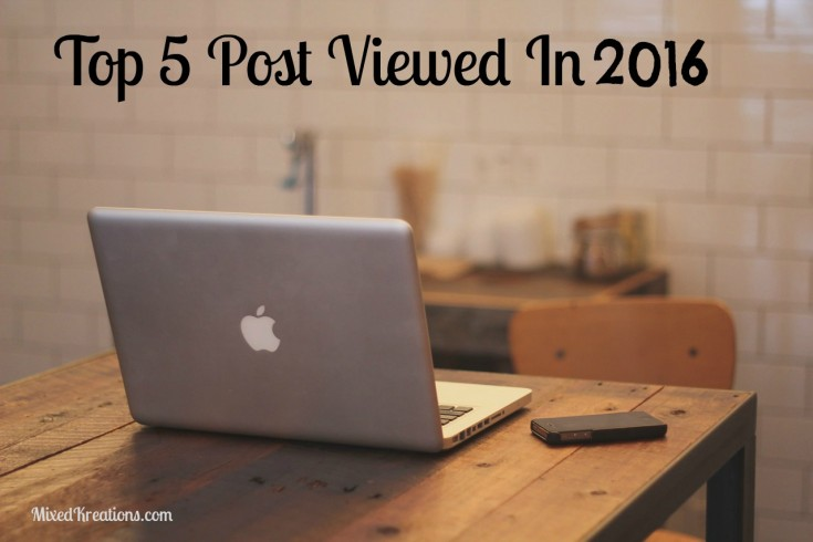 top 5 posts viewed in 2016