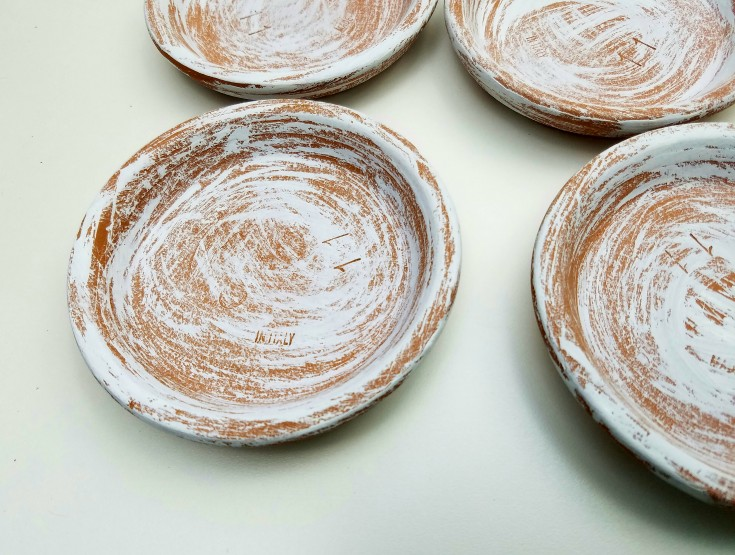 Repurposed Terra Cotta Saucers