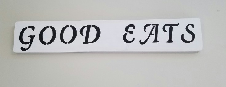 diy good eats sign