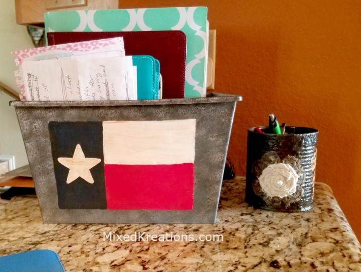 dollar store container makeover