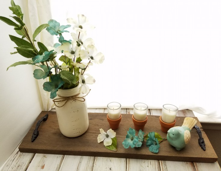 How to Make a Spring Garden Centerpiece