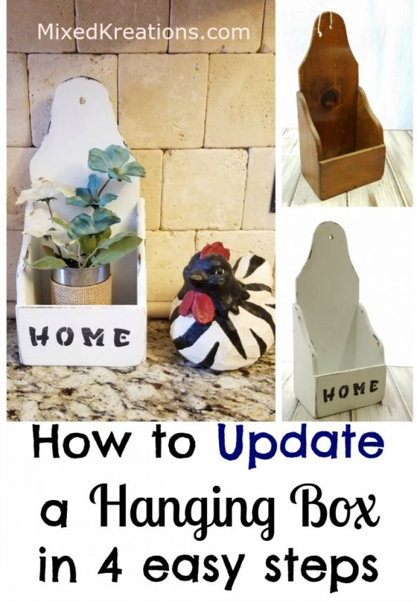 how to update a hanging box in 4 easy steps