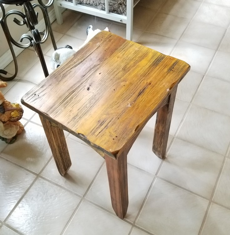 How I Upcycled a Table