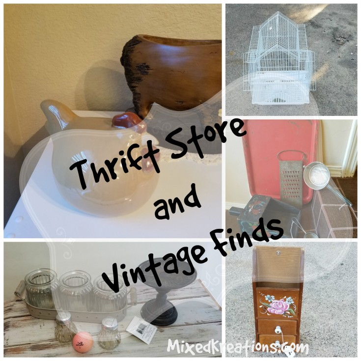 Thrift store and vintage finds