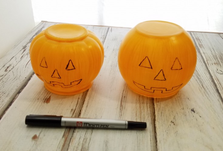 diy jack-o-lantern decor